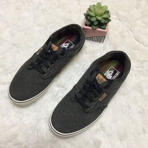 Vans Off the Wall Gray Canvas and Cork Accents